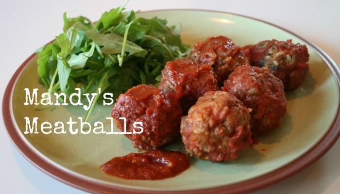 Mandy's Meatballs :: Friday Foodie