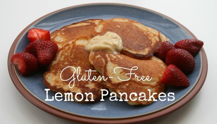 Gluten-Free Lemon Pancakes w/ Honey Butter :: Friday Foodie