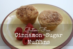GF Cinnamon Sugar Muffin