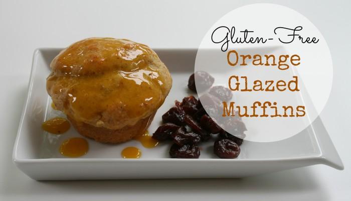 GF Orange Glazed Muffins :: Friday Foodie