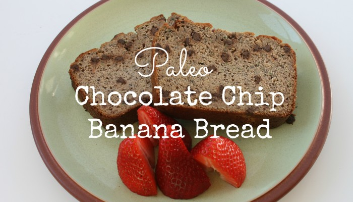 Paleo Chocolate Chip Banana Bread :: Friday Foodie