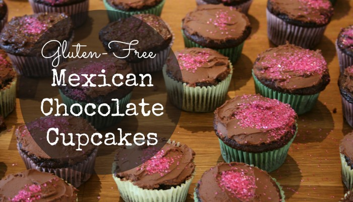 Gluten-Free Mexican Chocolate Cupcakes :: Friday Foodie