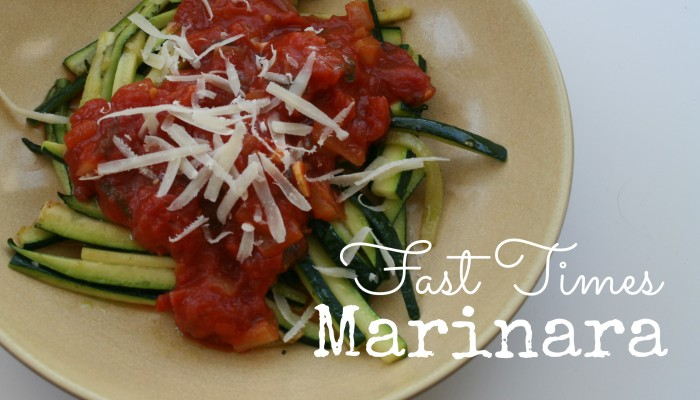 Fast Times Marinara :: Friday Foodie