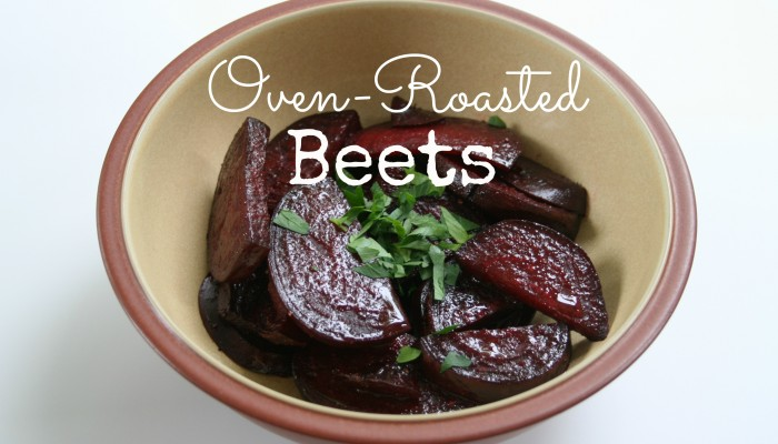 Oven Roasted Beets :: Friday Foodie