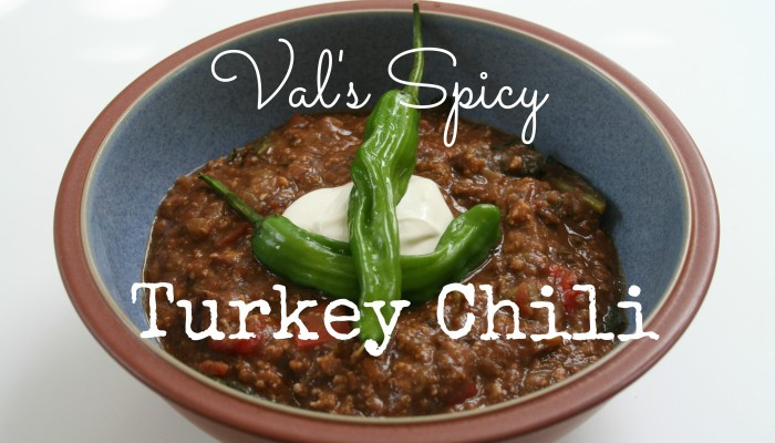 Val's Spicy Turkey Chili :: Friday Foodie
