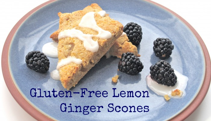 Gluten-Free Lemon Ginger Scones :: Friday Foodie