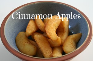 Cinnamon Apples Plain