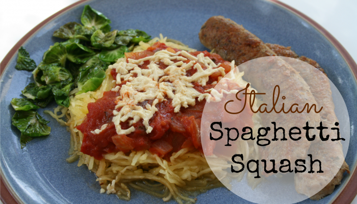 Italian Spaghetti Squash :: Friday Foodie