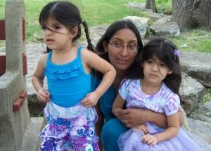 Sadia&girls